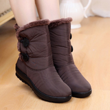 brown Women's Snow Boots A excellent pair of adult Designed to keep your feet warm and dry winter weather water resistant Women's womens women womans woman wom weatherproof waterproof warm snowmen snowman Snowing snow shoes mums mum mother Lady ladies ice girls girl foot feet boot's boot