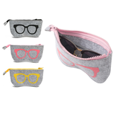 Soft Zip Glasses Case Keep your glasses safe and scratch free zips Zipper Zipped zip trending travel sunnies sun glasses sun soft smartphone scratch resistant phone lens iPhone holiday's holiday Handy grey glasses gigs gift felt eye glasses Cosmetics Cosmetic Cool Compartment co-ordinated co-ordinate Co-Ord cases Carry-On carry case carry