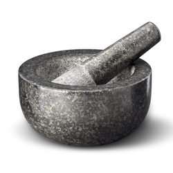 Solid Granite Pestle and Mortar Unleash your inner chef beautifully made delicious homemade pesto, marinades, spice mixes, sauces, salad dressings tensils stone spices potential polished pestel mortor meals made kitchens kitchen accessories ingredients homemade herbs heat gift fresh foodie food flavours essential creative cooking