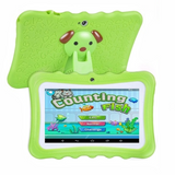 green Kids' Quad-Core HD Tablet Get your kids these next generation tablets! Brilliant for children's learning, intellectual development, & entertainment tablets quad pcs pc kid-safe kid's kid ipads ipad inch girls girl gift entertainment educational education Core childrens Children child boys boy android 8GB 7""