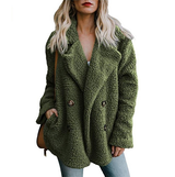 green Teddy Fleece Jacket Wrap yourself in this gorgeous popular Perfect for colder days, fully lined extra thermal women womans woman winter warmth warm Thermal teddy's Teddy stylish style size jackets jacket girl fleeces fleeced fleece fit fashionable fashion cosy coats coat clothing clothes casual Button breasted Autumn