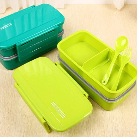 Thermal Lunch Boxes with Spoon & Fork