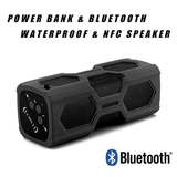 Ultra Bass Power Bank Portable Speaker Charge your phone and enjoy your favourite music with wireless ultra bass travelling travel subwoofer Speakers speaker sounds sound sony smartphones smartphone rock r n b powerful powerbanks PowerBank power supply Portable phone music mobile metal holiday charge carry Bluetooth battery backpacking 4.2 3600mah