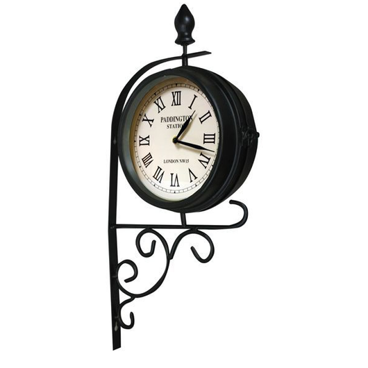 Victorian Style Station Clock