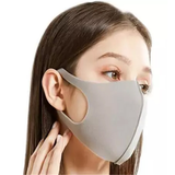 Grey Washable and Reusable Face Masks They come in packs of 10 face masks washing wash virus protects Protectors protector protective protection protecting Protected protect Masks Mask flu face covid19 covid-19 covid coverup covers Coverings Covering coverage cover coronavirus corona