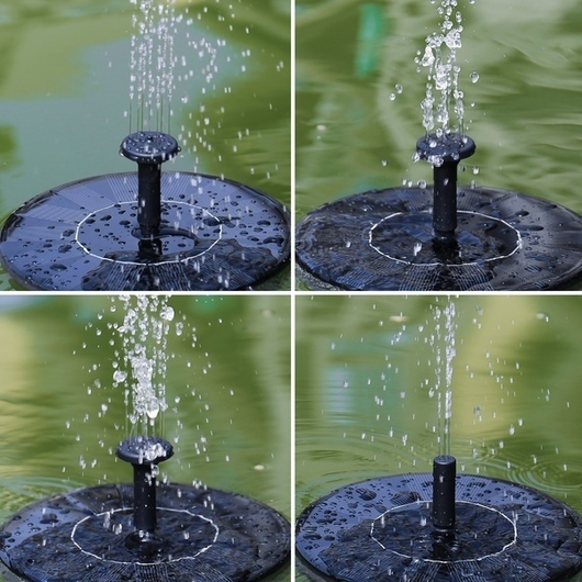 Solar Pond Fountain
