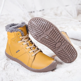 yellow Unisex Waterproof Ankle Snow Boots perfect casual boot for all weather non-slip rubber sole women woman winter waterproof warmth walking walk unisex trend treds tred thermal support style snow shoes shoe outdoor Men hiking hike fur footwear foot feet faux fashion durable dry dad casual boots boot ankles ankle