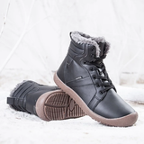 brown Unisex Waterproof Ankle Snow Boots perfect casual boot for all weather non-slip rubber sole women woman winter waterproof warmth walking walk unisex trend treds tred thermal support style snow shoes shoe outdoor Men hiking hike fur footwear foot feet faux fashion durable dry dad casual boots boot ankles ankle