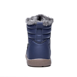 back Unisex Waterproof Ankle Snow Boots perfect casual boot for all weather non-slip rubber sole women woman winter waterproof warmth walking walk unisex trend treds tred thermal support style snow shoes shoe outdoor Men hiking hike fur footwear foot feet faux fashion durable dry dad casual boots boot ankles ankle