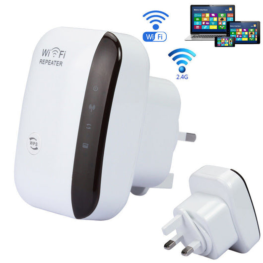Wifi Repeater Wireless Signal Booster Easily extend the range of your WiFi network No longer worry about obstacles that weaken your wifi signal Wireless tablets tablet strong signals Repeaters notebooks notebook networks modems modem laptops laptop house Home ethernet computers computer cables cable Boosters Boost