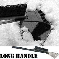 Windscreen Ice Scraper and Snow Brush This long reach handle life saver on winter mornings ideal for car and van screens Windshields Windshield windscreens windows Window vans van snowy Snowing snow scrapers Scrape icer ice handle frosty Frost deicer defroster's Defroster De-icer cars caravans caravan car park Brushes Brushed