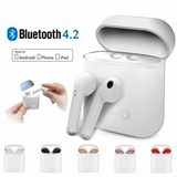 Wireless Earbuds with Charging Case Wireless various technology sony samsung quality pairing music htc high headphones Headphone gym ears earphones earphone Earbuds earbud ear Devices charging case Bluetooth android