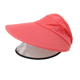 rose Women's Sun Hat with Removable Sun Visor detachable full face shield The Anti-UV UPF 50+ visor women womans woman with vizors vizor visors visor sunshine sunshades Sunshade Sunscreen sunny sunnies sunlight sunglasses sun shades sun shade sun glasses summer holiday removes remove mums mother ladys Lady Ladies hat's girls girl