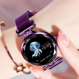 Women's Flower Cut Smartwatch
