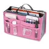 Pink Women's Handbag Organiser Perfect for you lipstick, bank cards, phone, keys, purse, make-up Multiple pockets