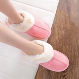 Pink Women's Warm Mule Slippers feet warm comfortable style Include slip-resistant soles slip-on design is easy to wear real suede leather outer's, a plush faux fur lining Amazingly soft comfortable women womans woman warmth warming warm Slipper's Slipper shoes shoe mums mothers mother Luxury Lady Ladies Home girls girl gift feet comfort