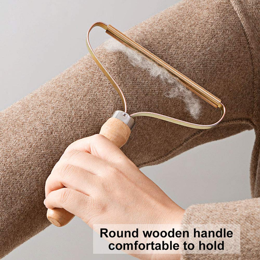 Wooden Lint Shaver Give your old fabrics new life quick shave remove pet hair, crumbs wood sweaters Sweater shaving shaves Shavers shaver shave removing Remover's remover remove Quick Portable pets Pet Lints Lint Hairball hair remover Hair gift Fuzz Fabric Epilator dust remover clothing Clothes