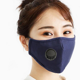 blue Cotton Breathing Valve Mask dust-proof and haze-proof provide enhanced protection, WASHABLE valves Valve shopping noses Nose mouth mask's Mask covid19 covid-19 covid coverup covers Coverings Covering coverage cover cotton coronavirus corona Breathing breathes breathe breathable breath easy breath and