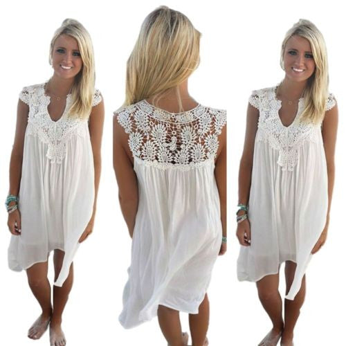Floaty Beach Dress