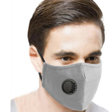 grey Cotton Breathing Valve Mask dust-proof and haze-proof provide enhanced protection, WASHABLE valves Valve shopping noses Nose mouth mask's Mask covid19 covid-19 covid coverup covers Coverings Covering coverage cover cotton coronavirus corona Breathing breathes breathe breathable breath easy breath and