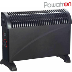 Powatron Convector Heaters Heat your home quickly 750W, 1250W, 2000W stay warm & cosy Winter warmth warming Warmer warm turbo boost Timer Thermostat temperature powerful portable models heating Heaters Heater heat Freestanding Electric Convection Cold central carry Adjustable 750W 2kW 2000W
