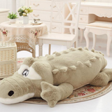Giant Crocodile Plush Toy Let your little ones have crocs of fun Makes the perfect edition for bedrooms, playrooms nurseries zoo wildlife wild Velvet toys toy soft snuggly seat Plush playset play time Oversized over sized nile large kids grey green gator fun cuddly cuddle crocodiles croc cotton Children alligator adventure