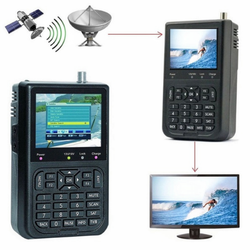 Digital Satellite TV Signal Finder