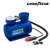 Goodyear Car Tyre Air Compressor Inflate your tyres on the go, as well as camping & sports equipment Quality Wheels Wheeled wheel tyres tyre sports sport pumps Pumping pump psi Pressure inflating inflateable inflate inflatables inflatable Goodyear Compressors Compressor Car's Car camps camping camp automobile auto air