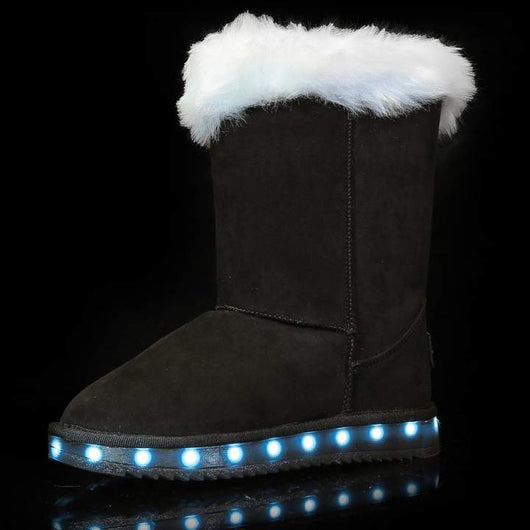 Light-Up Soft Wool Boots