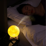 Touch Control LED 3D Moon Lamp & Humidifier This gorgeous 3D-printed moon lamp doubles as a humidifier A wonderful eye-catching addition to any bedroom Makes the perfect nightlight Touch moons moon LED Lamp's lamp kids kid Humidifiers humidifier Cool controls controlled control childrens Children child bedrooms bedroom air freshener air 3D