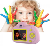 Kids Digital Camera child photographer point & press photo capture shock absorbing robust hard wearing Features LCD screen flash zoo toys toy SLR press pictures picture photography photo kid's HD grips girls girl gift fun Digital child's childrens Children child capturing Capture camera's boys boy 1080p