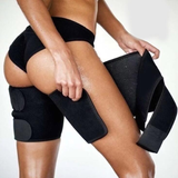 Neoprene Leg Compression Belts Perfect for reducing the appearance of cellulite and increasing body tone wrap women woman tone thighs thigh support straps sports sport spandex sore slims slimming slim size pain muscles muscle legs injury hamstrings hamstring gym girl fit elastic ease compression calorie body blood flow belts anti-cellulite aid