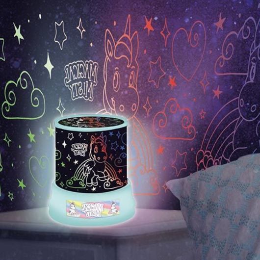 Unicorn Projector Night Light Project unicorns onto the walls & ceiling bedroom kids dreamland Fun children to sleep unicorns Unicorn Stars star sky Projectors Projector projection nights night Mood Light's Light leds LED lamps lamp kids kid Home girls girl gift fairy childs Children's Children child boys boy Amazing