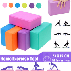 Fitness Yoga Blocks Elevate your home workout Perfect for assisting and supporting your body yoga workout Versatile tool supportive shock sculpt rehabilitation rebuilding pose movement injury illness home healthy gym goals fitness fit EVA Crossbody colours Colouring colourful Colour Bodywork body contour block abs