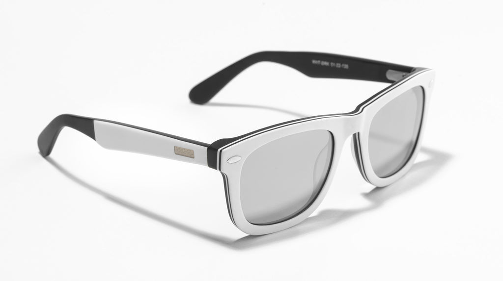 Wayfarer Mirrored Lens Dark
