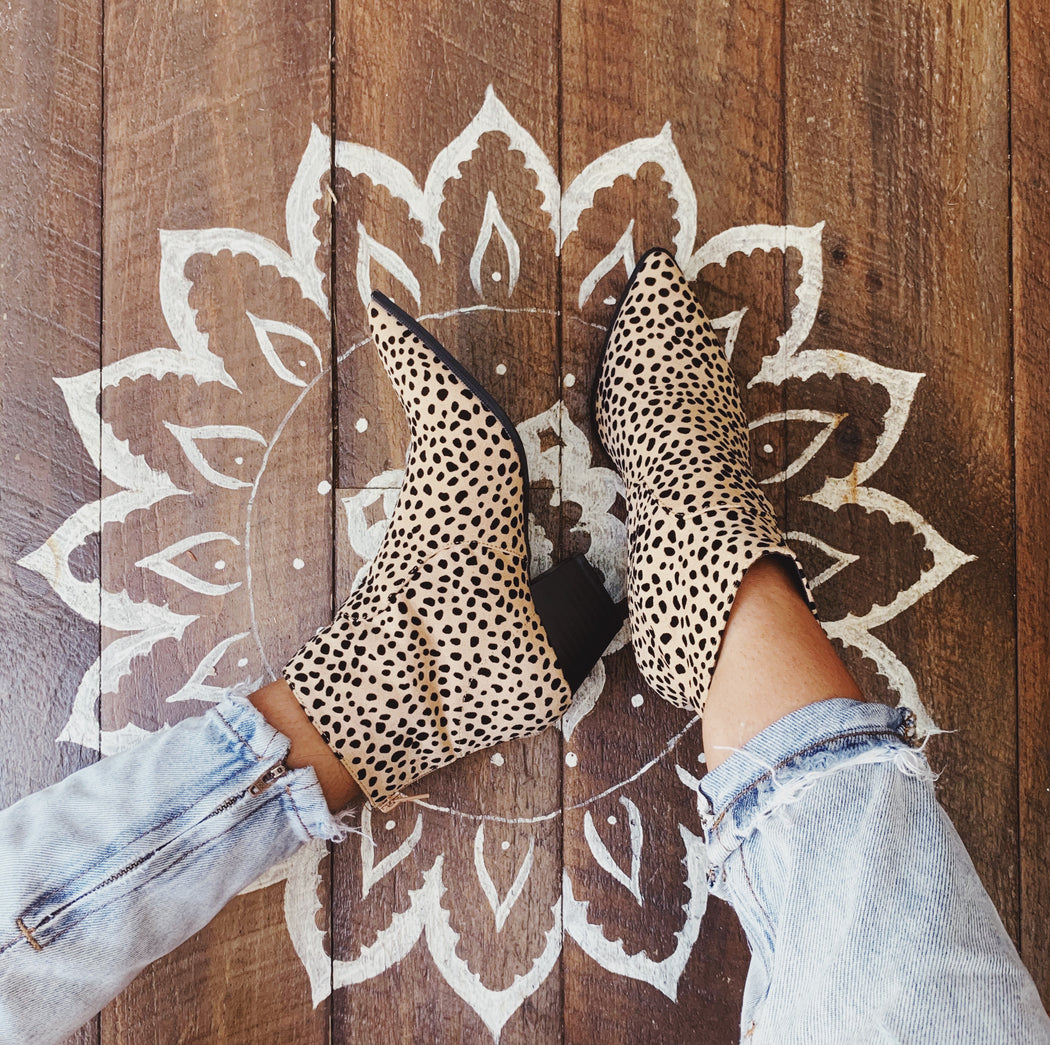Wild at Heart Leopard Bootie