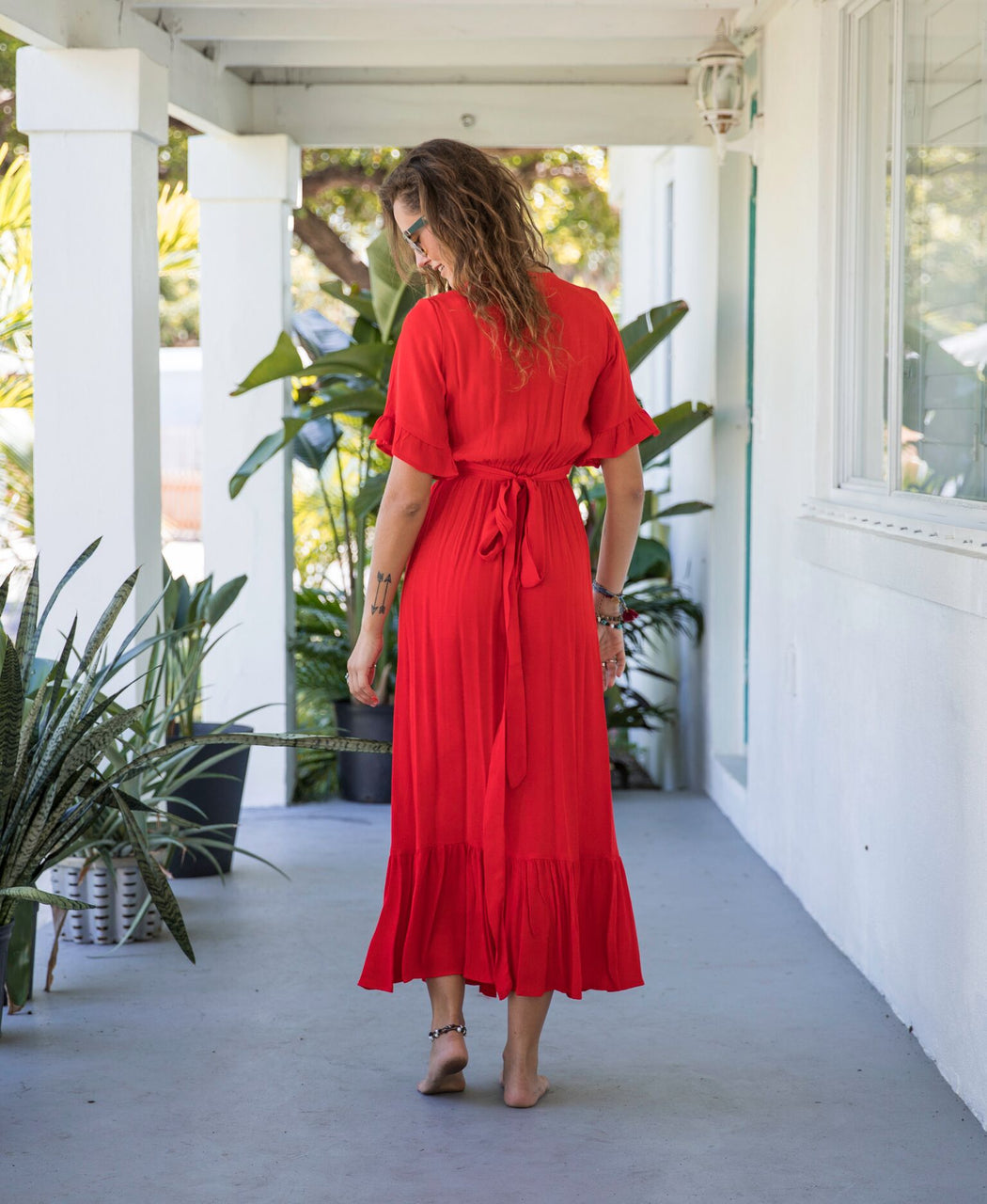 Red Hot MaxiDresses - Bohemian Groove