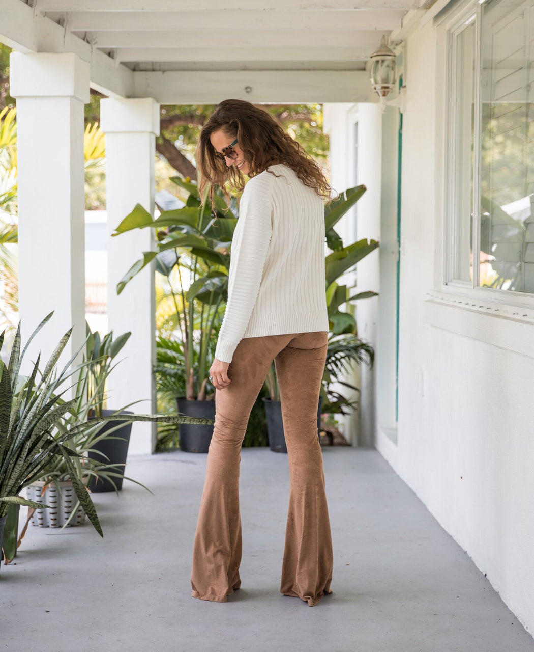 Suede Bell BottomsBottoms - Bohemian Groove