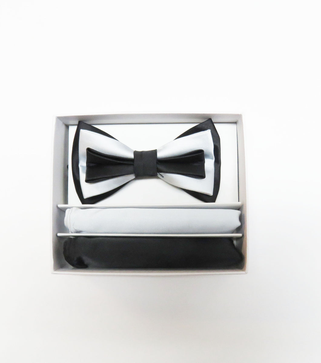 Double Pattern  Bow tie Set
