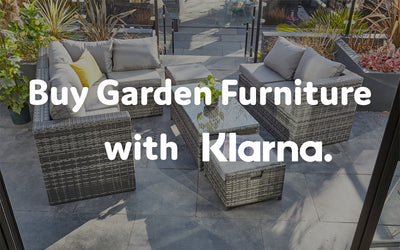 Buy Garden Furniture with Klarna