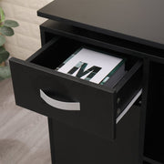 Tornio Storage Office Desk In Black
