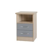 Agata 2 Drawer Bedside Table, Bedroom Furniture, Furniture Maxi, Furniture Maxi