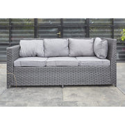Barcelona Black Modular 8 Seater Rattan Corner Sofa Set, Garden Furniture, Furniture Maxi, Furniture Maxi