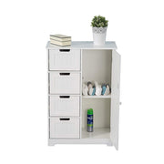 4 Drawer 1 Door Floor Unit, Bathroom Cabinet, Furniture Maxi, Furniture Maxi