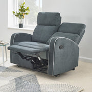 Boston 3+2 Dark Grey Fabric Recliner Sofa Set, Living Room Furniture, Furniture Maxi, Furniture Maxi