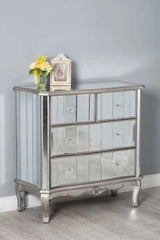 Glamour 4 Drawer Chest Bedroom Furniture Furniture Maxi