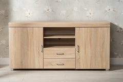 Hastings Large Oak TV Stand | Furniture Maxi
