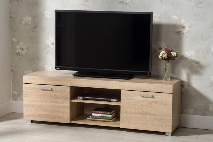 Hastings Oak 2 Door TV Stand, Living Room Furniture, Furniture Maxi, Furniture Maxi
