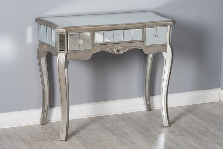 Glamour Mirrored Console Hallway Side Table - Furniture Maxi