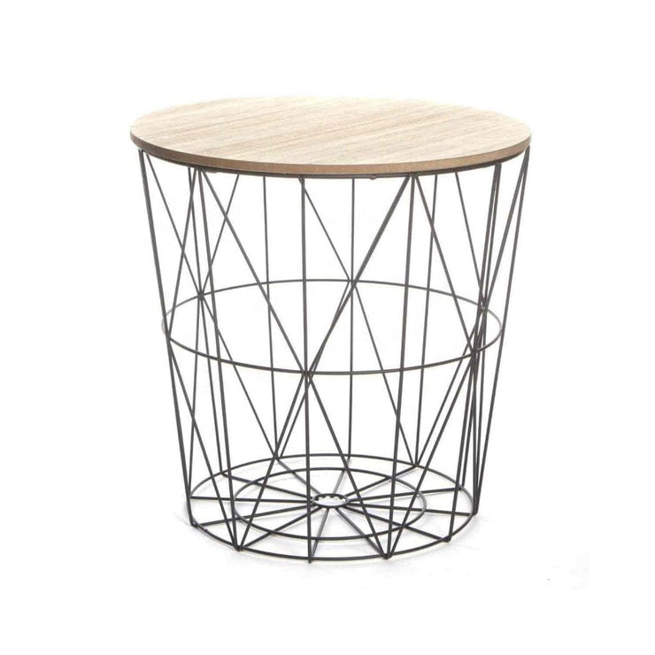Kemi Metal Wire Side Table